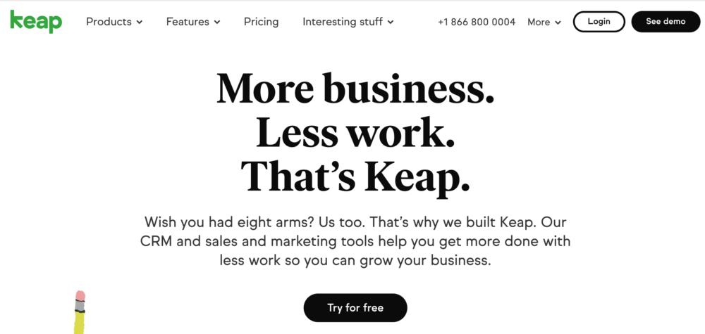 keap(旧infusionsoft)